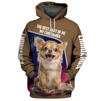 funny camouflage chihuahua 3d printed all over hoodies fashion pullover men for women sweatshirts sweater animal costumes