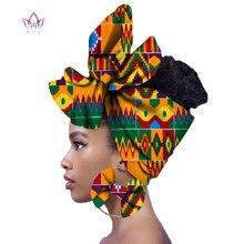 2020 moda africano cabeça cachecol e warrings 2 peças feminino africano roupas bazin rico headwear cera ancara hairband sp018