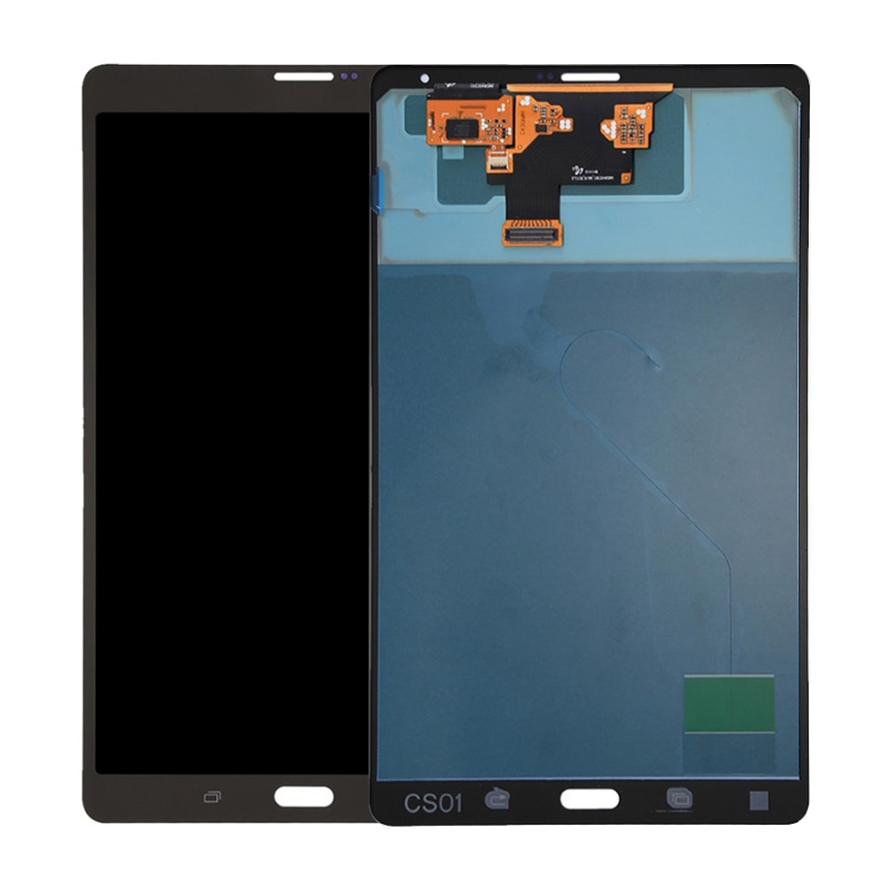 Aaa + qualidade display lcd para samsung galaxy tab s 8.4 t700 t705 display lcd tela de toque digitador vidro do painel toque com quadro