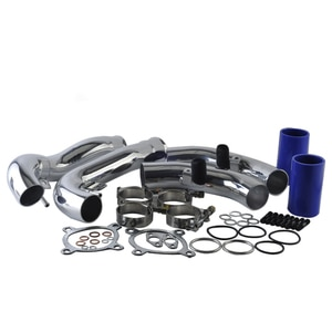 AUTO silicone hose Aluminum Intercooler Pipe Intakes Pipe Silicon hoses Kit Suit for AUDI A4 air intake hose