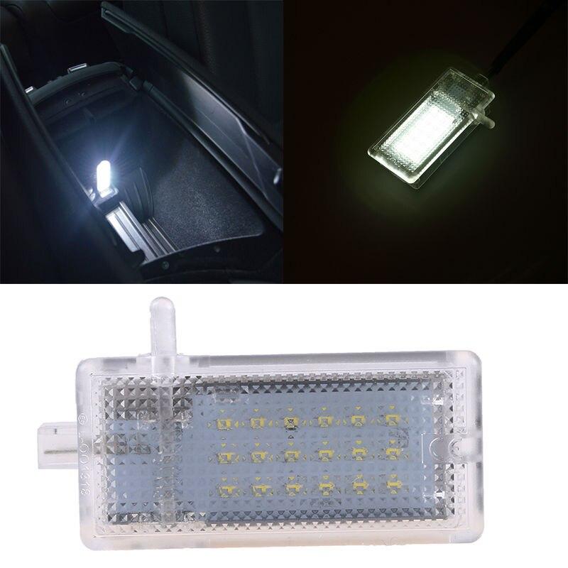 Luz LED blanca Interior para maletero, guantera, lámpara para BMW E46 E87 E90 E81 E53, diseño de coche