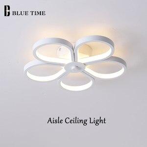 15W LED Chandelier White Metal Modern Chandelier Lighting Small Corridor Light Star Lamp Aisle Ceiling Mounted Light Luminaires