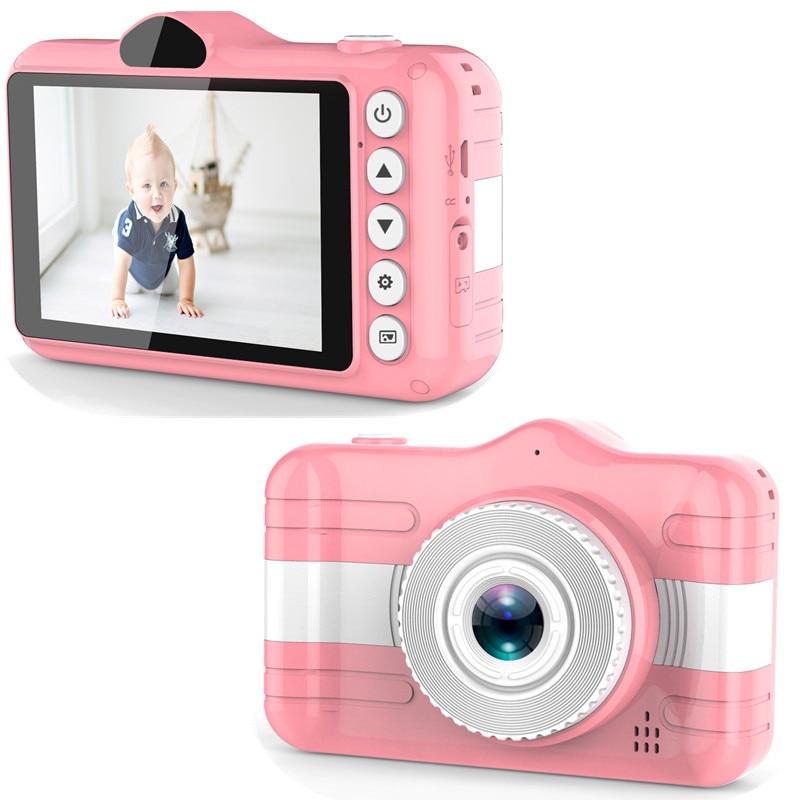 Mini Digital Camera 3.5 Inch Cartoon Cute Camera For Kids 12MP 1080P HD Photo Video Children Camera Birthday Gift For Children