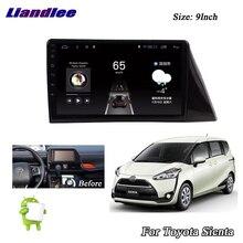 Liandlee-système Android voiture Toyota Sienta   2015 ~ 2018 Radio vidéo stéréo, Carplay GPS, Wifi BT TV, Navi carte Navigation multimédia