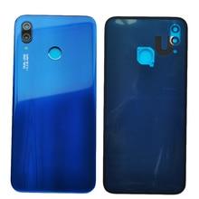 ZUCZUG yeni orijinal cam arka konut Huawei Nova için 3E/P20 Lite pil kapağı geri durumda P20 Lite değiştirin parça