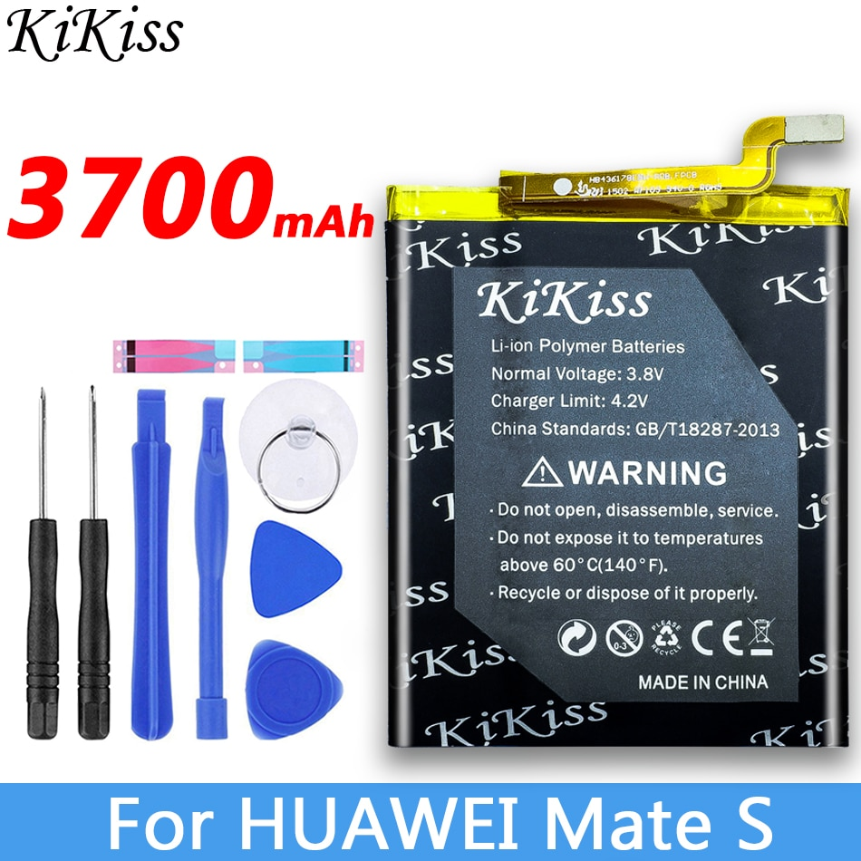 3700mah bateria de grande potência hb436178ebw para huawei companheiro s bateria CRR-L09 / CRR-L13 / CRR-L23 / CRR-CL10,CRR-CL20, cl00, ul00, tl00