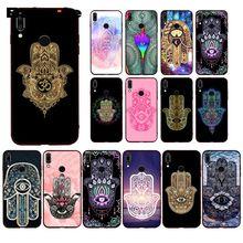 Babaite Hamsa Hand of Fatima  Phone Case for Huawei P20 P30 Pro P20Lite P30Lite PSmart P10 9lite