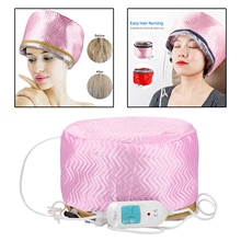 Women Hair Steamer Cap Dryers Thermal Treatment Hat Beauty SPA Nourishing Hair Styling Electric Hair