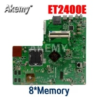 amazoon original all in one for asus et2400 et2400e 8memory mainboard 100 test ok works