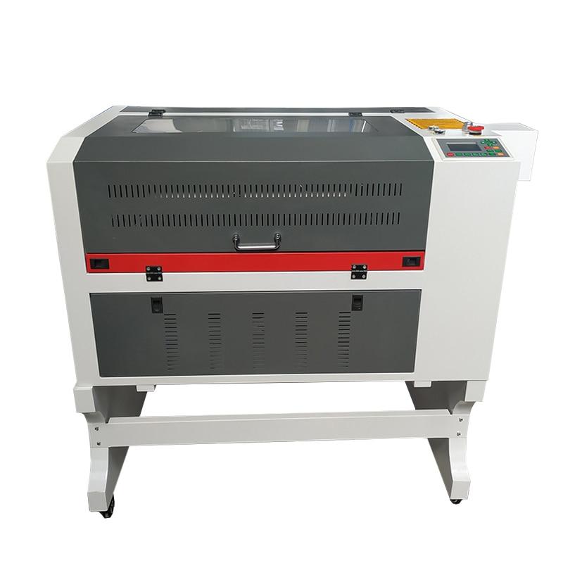 Jin zhi yin 6040 gravador a laser 60w 80 100 frente para trás ruida 6442s gravação a laser máquina de corte ponto vermelho