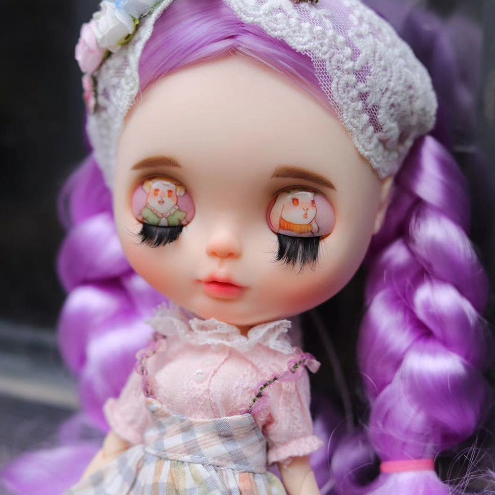 1/6 BJD 30CM Doll toys 19 joint blyth girl Doll BJD Ball Joint Doll Viole wig Real texture matte fac