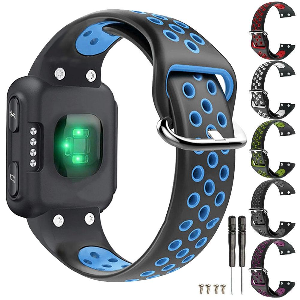 Correa de silicona para relojes Garmin Forerunner 35, repuesto de correa deportiva para relojes inteligentes, accesorios para Garmin