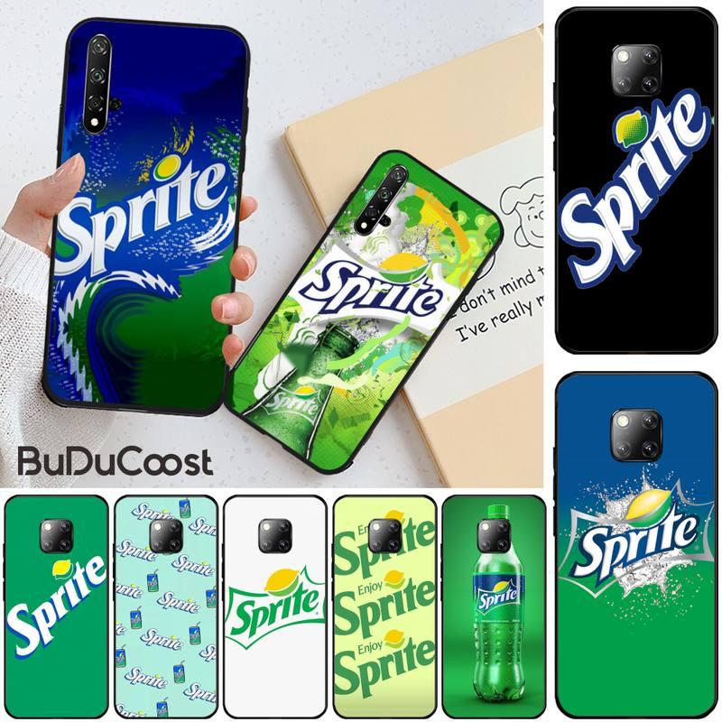 Sprite bebida deportiva funda del teléfono para Huawei Honor 8X 9 10 20 Lite 7A 8A 5A 7C 10i 20i 9X jugar 8C