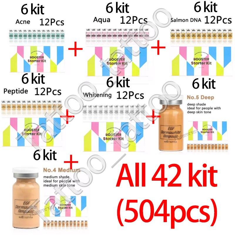 12pc*42kit =504p 7 Color Korean Glow BB Cream Serum Acne Remove Anti-aging Whitening Brightening stayve Cream Makeup Starter kit