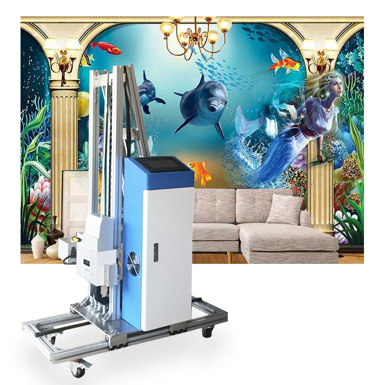 3D Automatic Vertical Wall Printer Direct Wall Painting Machine