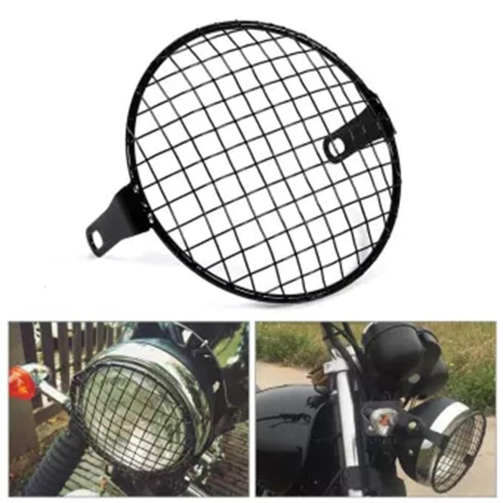 1 par de faros LED universales para motocicleta