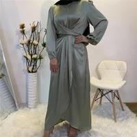 eid mubarak muslim fashion women plain hijab dress dubai abaya turkey caftan kaftan islamic clothing robe kimono femme musulmane