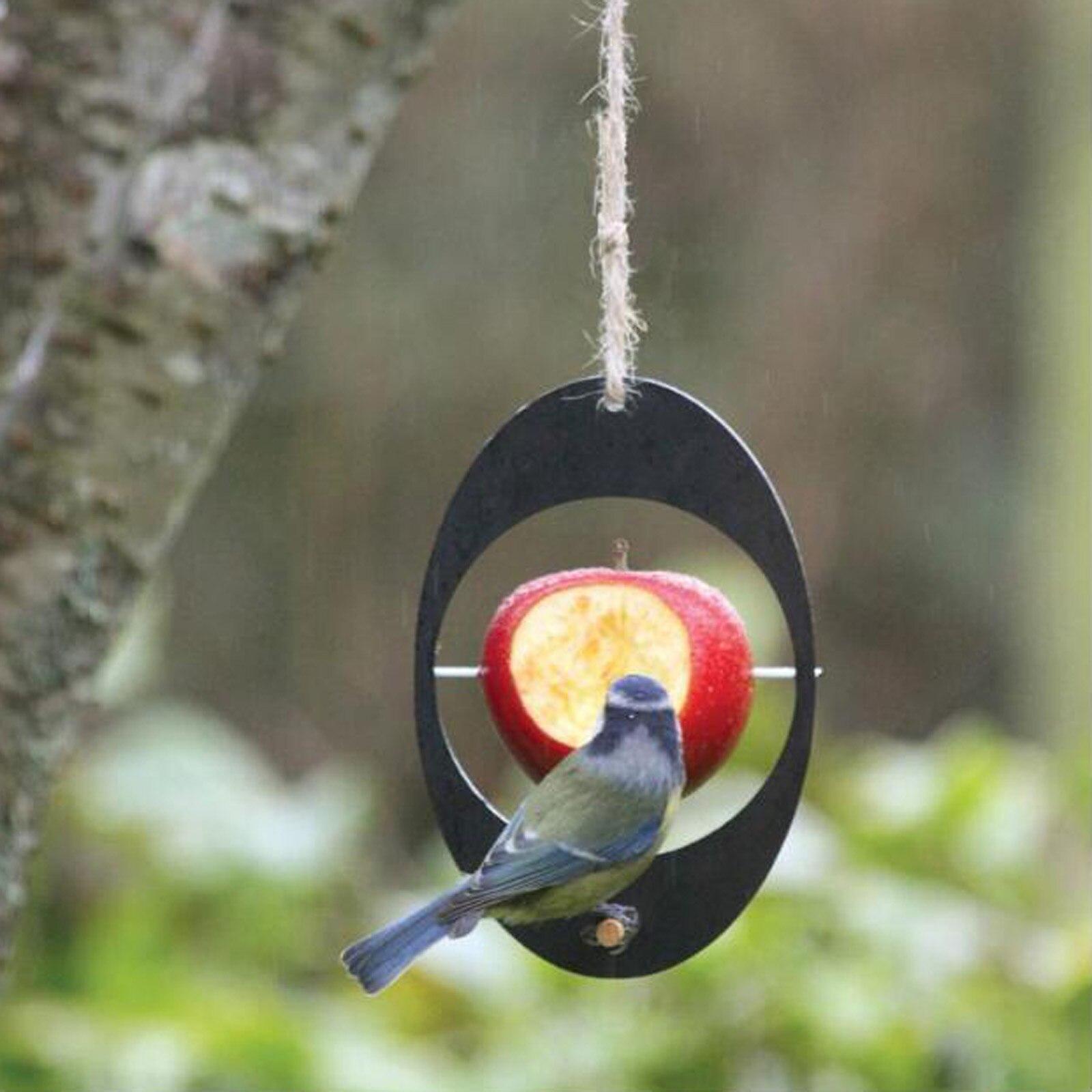 Recycled Birds Feeder Apple Feeder Birds Supplement Nutrition Garden Decoration Birds Feeder For Outdoor TT-best