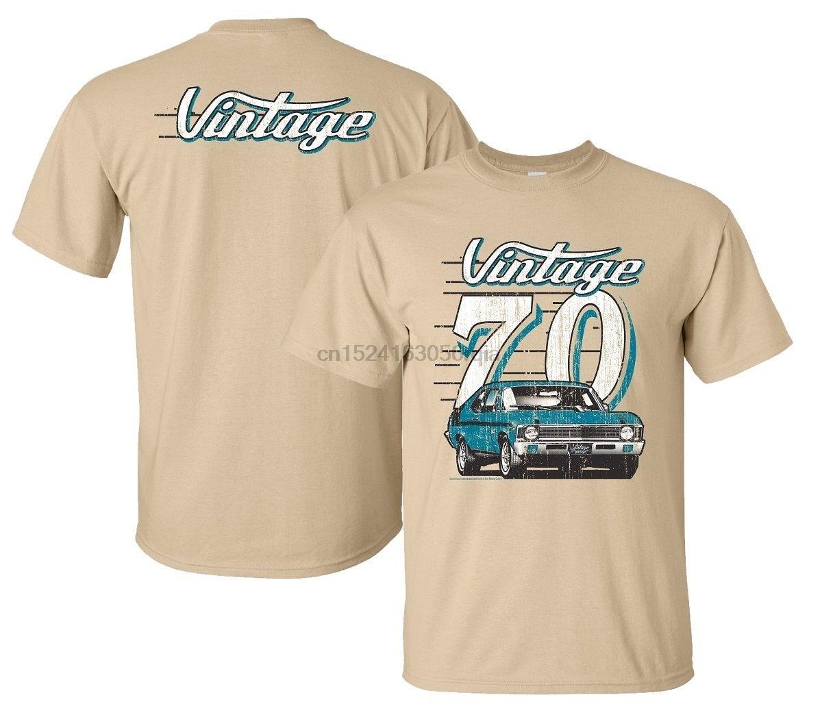 Chevrolet 1970 Nova Vintage serie Mens T camisa SS