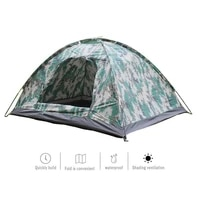 waterproof tent outdoor digital camouflage camping hiking portable 2 person tent for beach mountaineering fishing