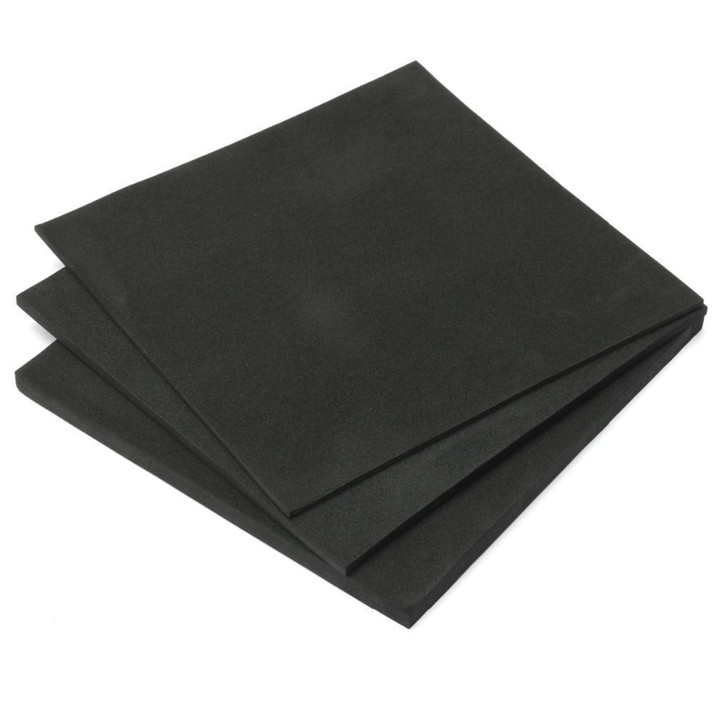 200x200/150x150mm 3/5/10/15mm ESD Anti Static Pin Insertion High Density Foam Soundproofing Foam Sou