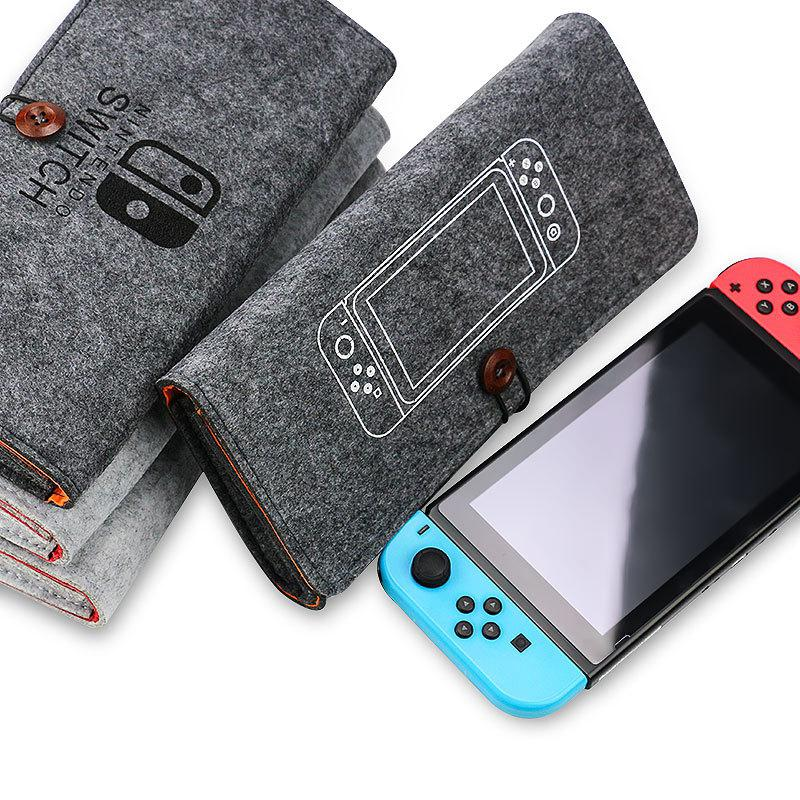 ns travel carrying case 19 game shell card holders pouch bag for nintend switch console and accessories joycon case thumb grips For Nintend Switch Storage Bag Colorful Protective Carrying Portable Case for Nintend Switch Nintendoswitch NS Game Accessories