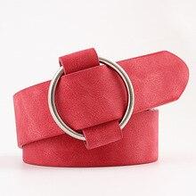 Nouveau dames filles large noir rouge blanc velours daim sangle jean ceinture femme large en cuir taille ceintures pour femmes jean ceinture