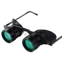 10x34 portable hd powerful binoculars 10x folding green film telescope for hunting fishing sports outdoor camping concert travel