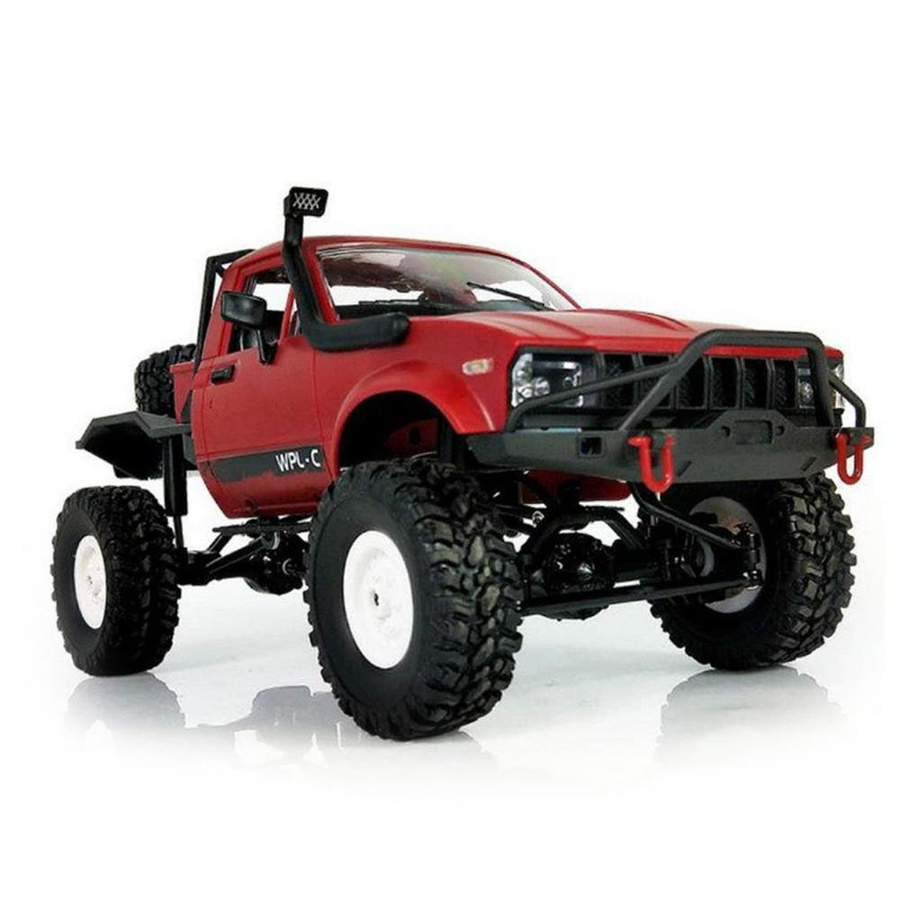 DishyKooker C14 116 2CH 4WD детский RC грузовик 2,4G внедорожный автомобиль электрический RC грузовик 15 км/ч высокая скорость мини гоночный автомобиль игр...