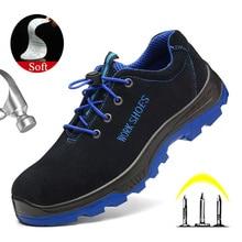 Yuxiang hommes en acier orteil chaussures de travail de sécurité Anti-fracassant Construction bottes dhiver pour hommes bottes de sécurité hommes en acier orteil chaussures