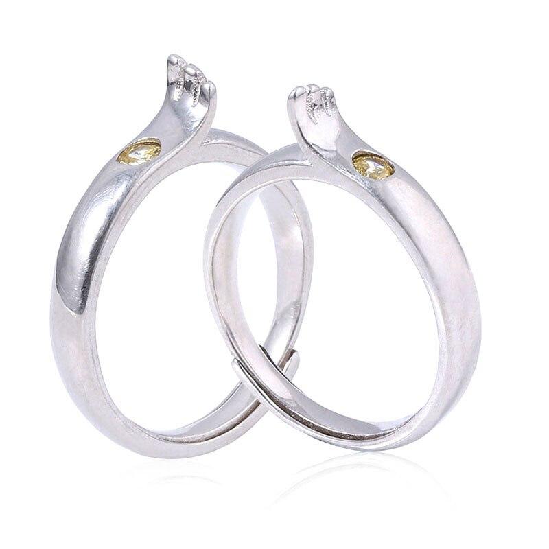 Couple amant Anime Tenki no musuko anneaux patinant avec vous Amano Hina Morishima Hodaka Cosplay anneau de mariage bijoux Souvenir