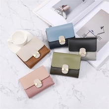New Fashion Women's Wallet Short Women Coin Purse Wallets For Woman Card Holder Small Ladies Card Ba