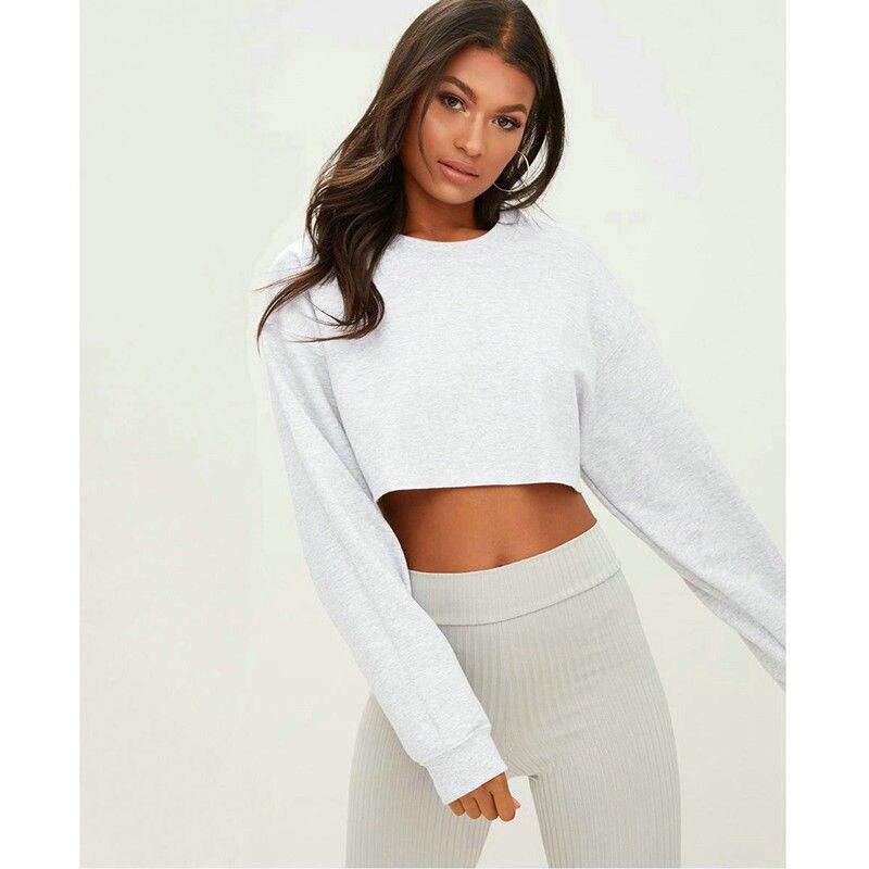 Новая мода женские толстовки балахон Повседневный джемпер с длинными рукавами и капюшоном, свитер Топ пуловер Топы в уличном стиле
