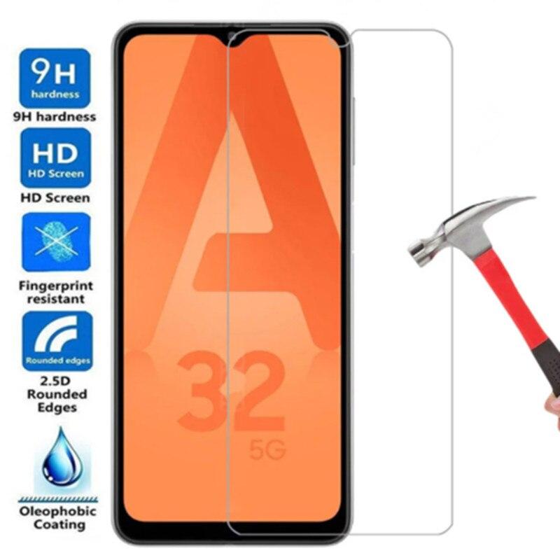 Фото - Защитное стекло 9h для Samsung A32 5G Galaxy a 32, Защитное стекло для телефона galaxy A 32 a32 5g, защитное закаленное стекло, 3 шт. защитное стекло
