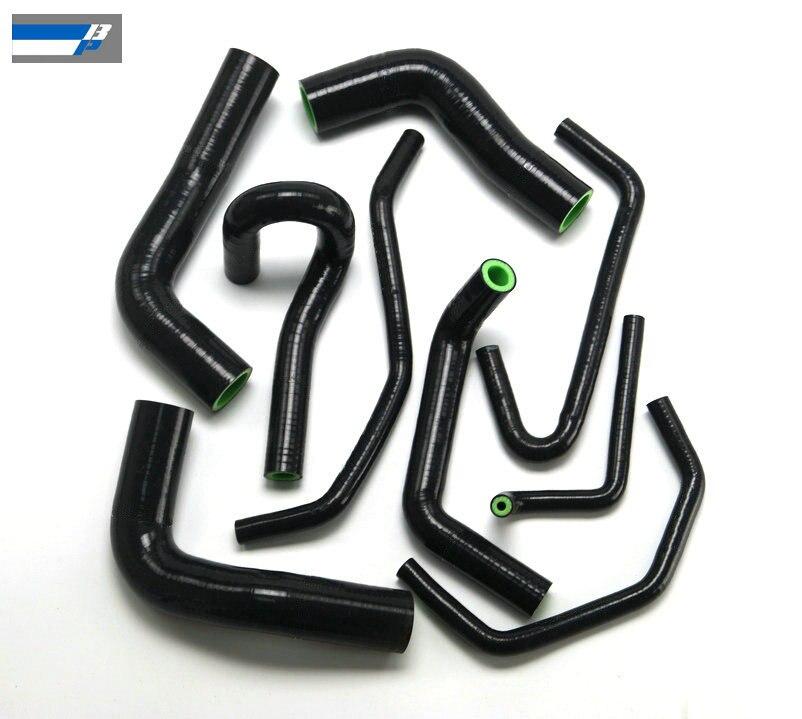 Silicone Heater / Radiator Hose For MAZDA MIATA MX5 1.8L 94-97 BLACK