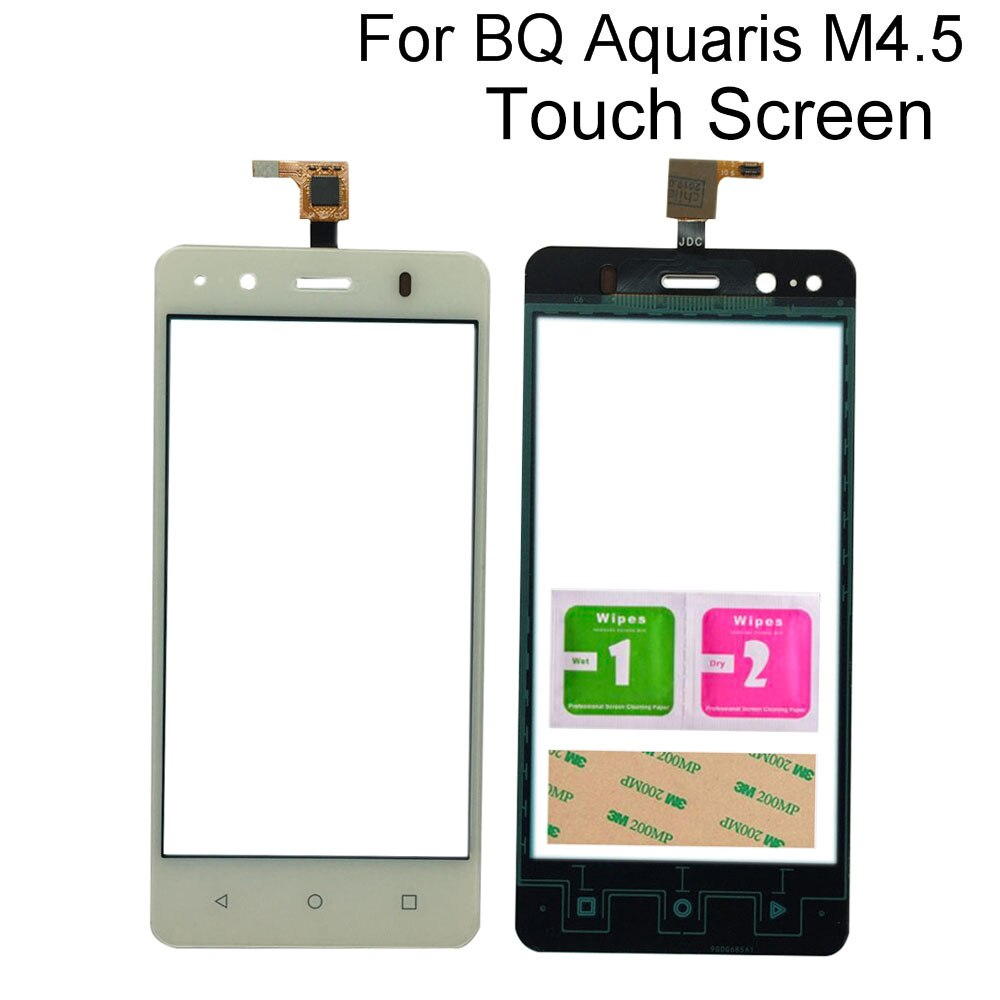 Mobile Touch Screen Digitizer For BQ Aquaris M4.5 4.5inch Touch Mobile Phone Sensor Panel Tools 3M G