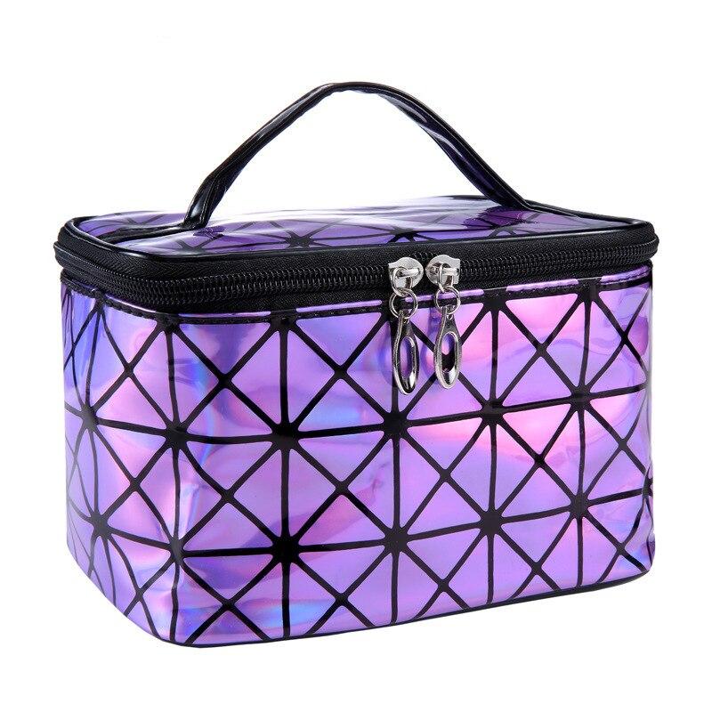 Cheap Women Cosmetic Bag Laser Cute Make Up Bag Lady Make Up Bag High Quality Cheap Women High Quality Make Up Brushes Bag