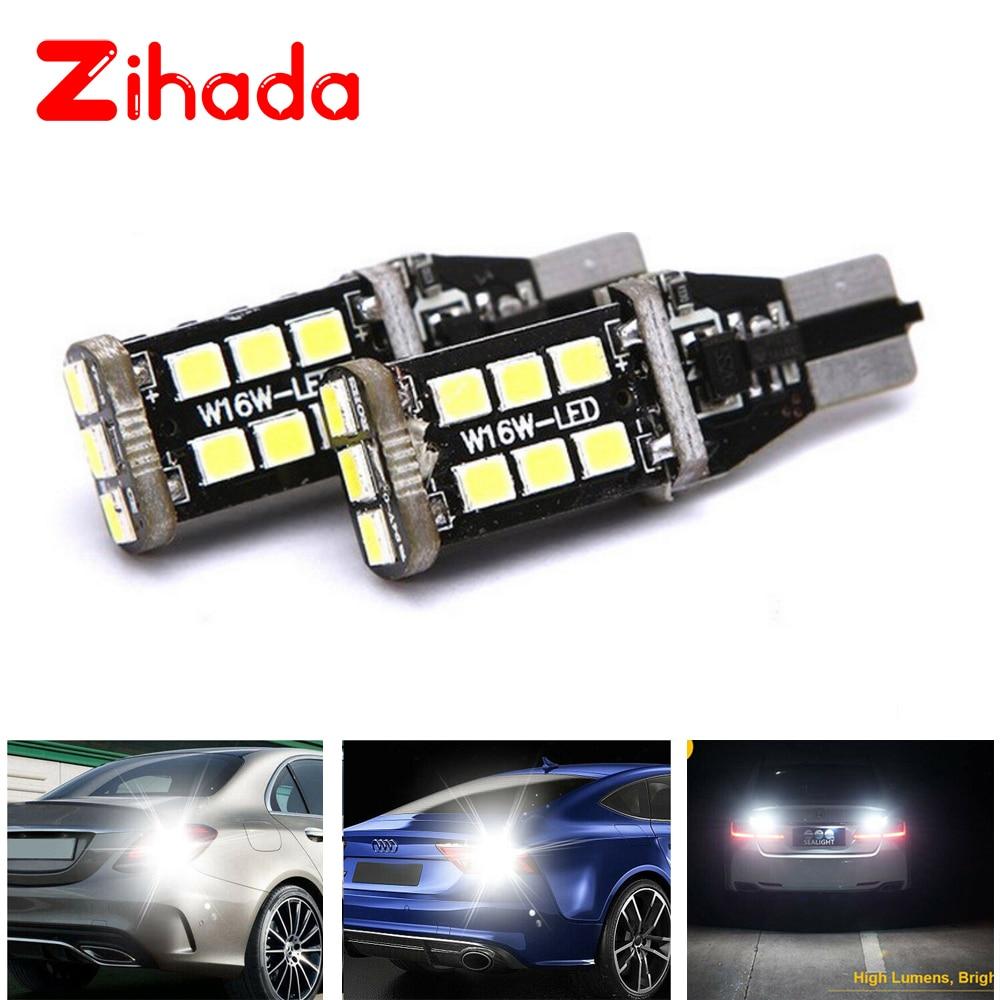 Super brillante luz LED reversible coche luz blanca bombilla led tipo CANbus para la luz de marcha atrás de respaldo de coche 912 921 T15 W16W