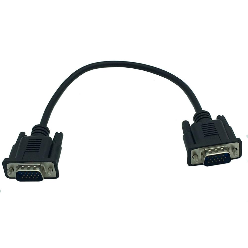 VGA HDTV/HD15 Cable macho a macho puede ser montado en una placa...