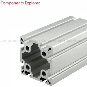 4Pcs 250mm 100100 Sliver Aluminum Extrusion Profile, Tap M14 1.5 pitch 20mm Depth SFX-100 Simulator or SRT100