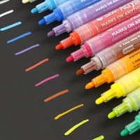 14 colors permanent art marker for fabric t shirt liner textile ink cloth paint color diy doodling washing does not fade