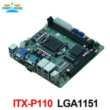 Teilhaftig ITX-P110 dual LAN DDR4 4 USB3.0 Industrial Mainboard Mini ITX Motherboard LGA1151