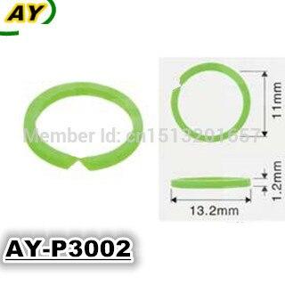 Envío Gratis 100 Uds sello de junta de inyector de combustible de plástico para kits de reparación de inyectores de combustible (AY-P3002, 13,2*1,2*11mm)