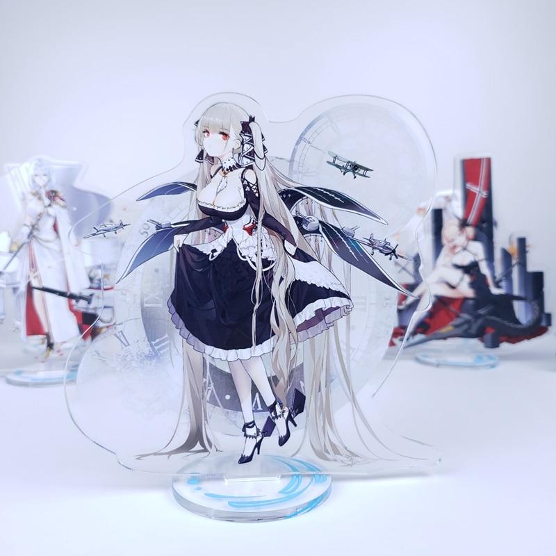 Аниме Azur Лейн Невеста формальное платье кожа стэнди Chicheng Kaga Косплей двухсторонняя фигурка на акриловой подставке модель тарелка декор стола