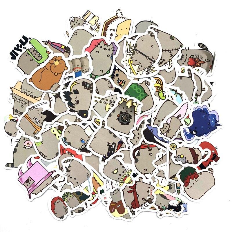 100-pz-pacco-carino-fat-cat-decorazione-adesivi-di-carta-fai-da-te-sticker-scrapbooking-per-il-diario-album-di-etichetta-adesiva-autoadesivo-diario-di-viaggio