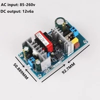 ac 100 240v to dc 12v 6a switching power supply module ac dc