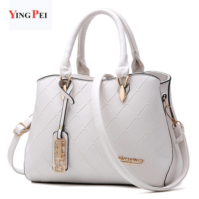 women bag Fashion Casual women's handbags Luxury handbag Designer Shoulder bags new bags for women 2021 white Simulation leather