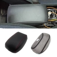 soft leather armrest cover for toyota corolla 2014 2015 2016 2017 2018 car styling center control armrest box cover sticker trim