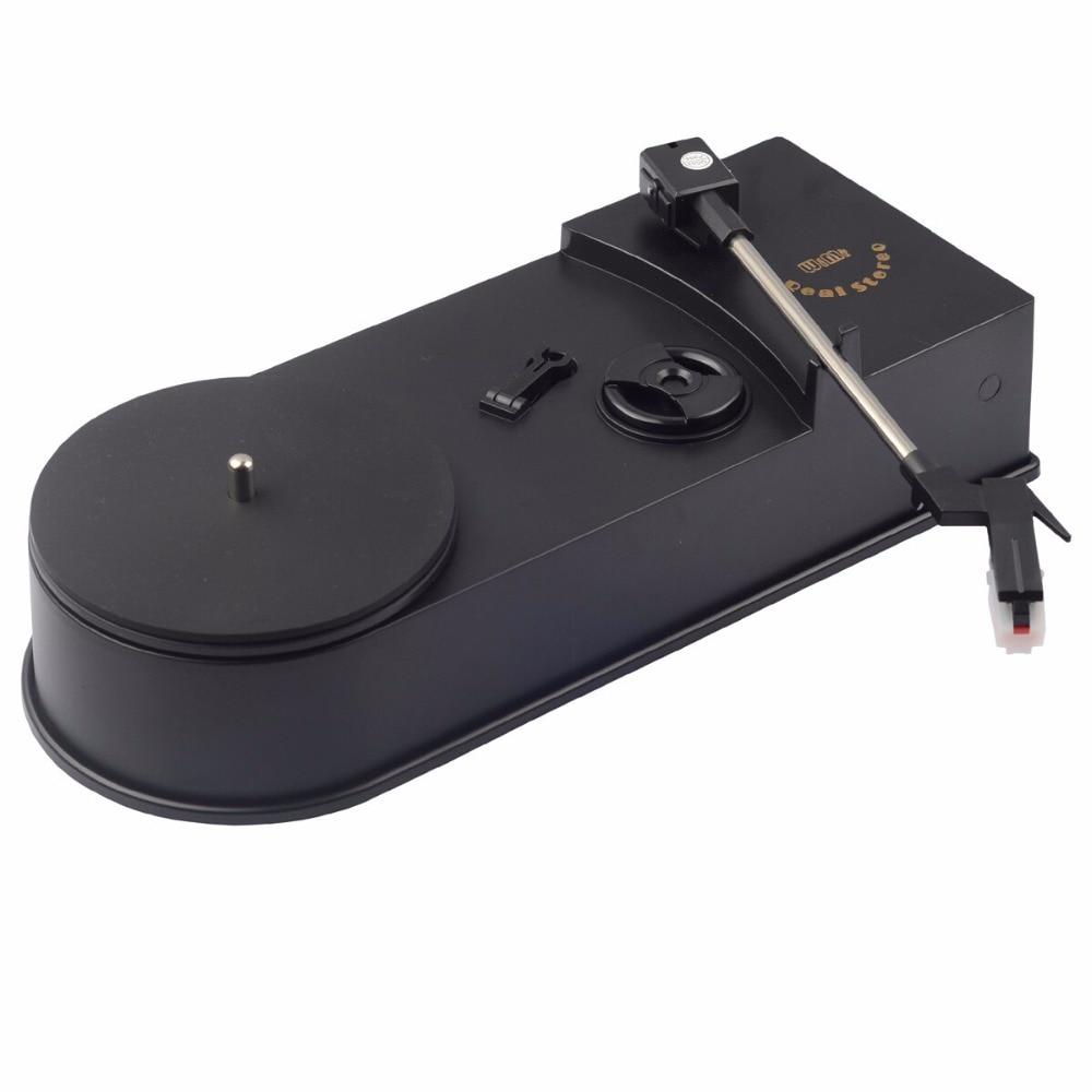 USB Portable Mini Vinyl Turntable Audio Player Vinyl Turntable to MP3/WAV/CD Converter Mini Phonograph Turntable Record EC008-1U enlarge