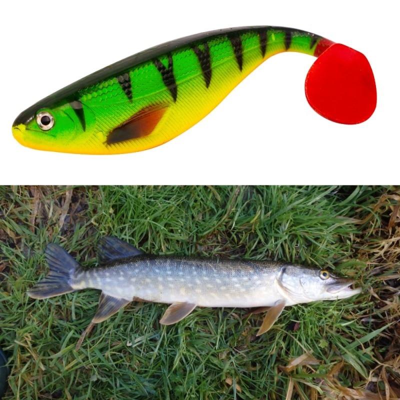 Hunthouse berserk Shad Teez снасти Мюррей треска Щука приманка 17 см 35 г приманка весло для рыбалки хвост Реалистичная приманка